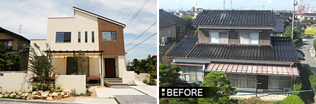 中古住宅を大型リノベーションしたモデルハウス「中島の家」
